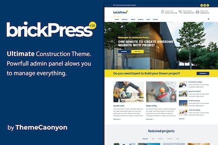 BrickPress - Construction & Building HTML5 Templat