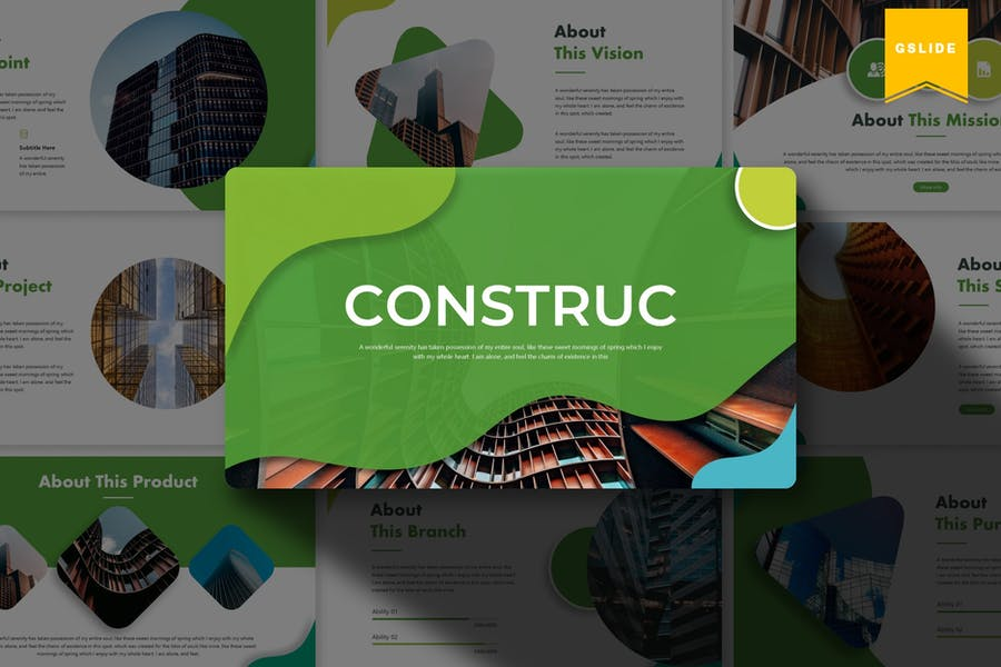 Construct | Google Slides Template
