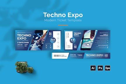 Techno Expo Ticket