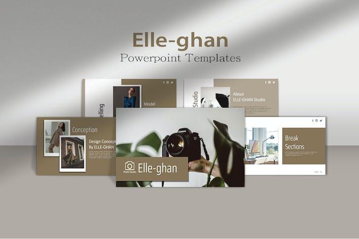 Thumbnail for ЭЛЛ-ГАН - Фотосъемка Powerpoint Шаблон