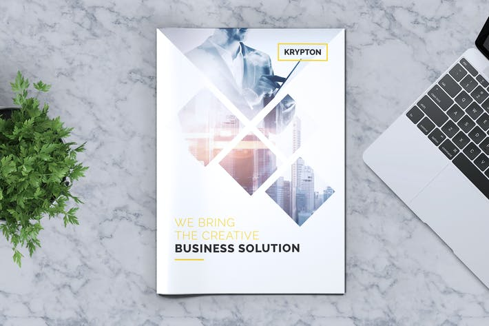 Thumbnail for Krypton | Corporate Business Brochure