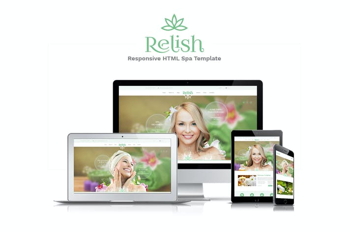 Thumbnail for Relish PSD Template