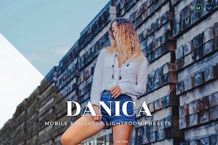 Danica Mobile and Desktop Lightroom Presets