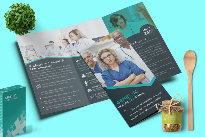 Thumbnail for Medical Brochure Trifold-02