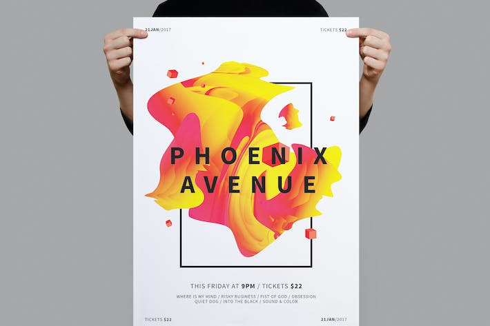 Cover Image For Phoenix Avenue Poster / Flyer