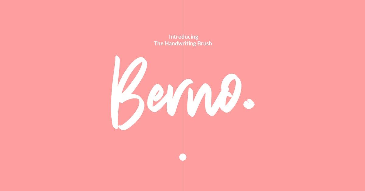 Download Berno - The Handwritten Brush by blkspace
