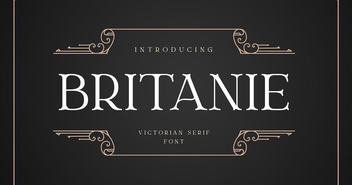 Download BRITANIE Vectorian Serif Font by uicreativenet