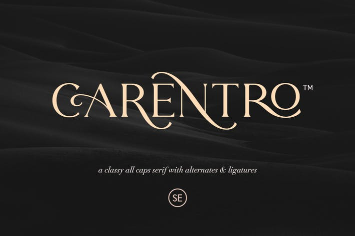 Thumbnail for Carentro - Classy Serif