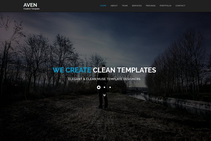 Thumbnail for Aven - Multipurpose Parallax HTML Template