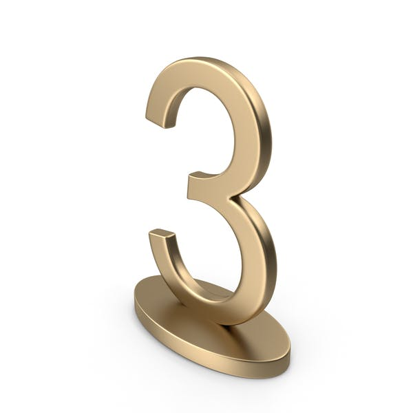 Table Numbers Sign 3