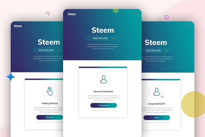 Thumbnail for Steem - 10 Email Newsletter