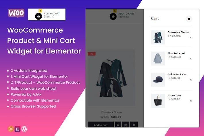 TFMiniCart&Product - WooCommerce Product, Mini Car
