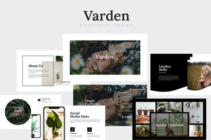 Varden - Plant Ecology Powerpoint Template