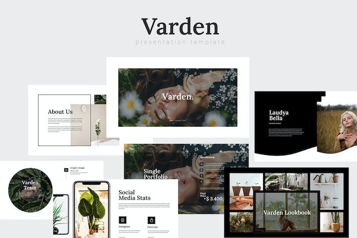 Thumbnail for Varden - Экология растений Шаблон Powerpoint