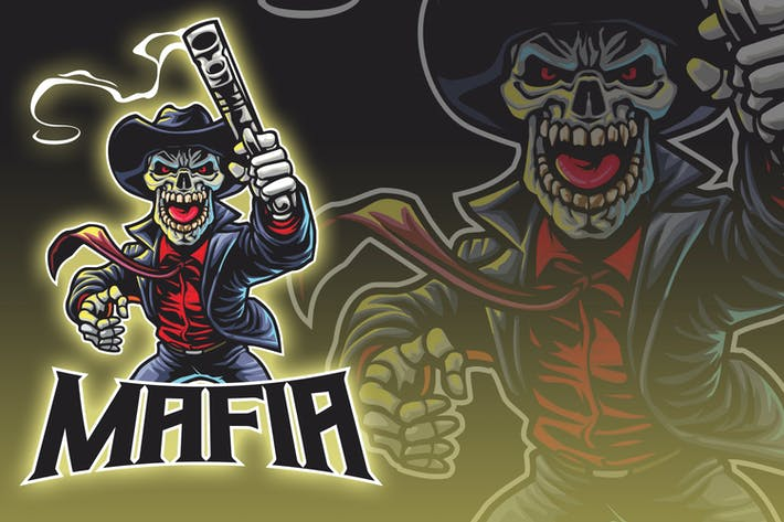 Thumbnail for Undead Mafia Esport Logo
