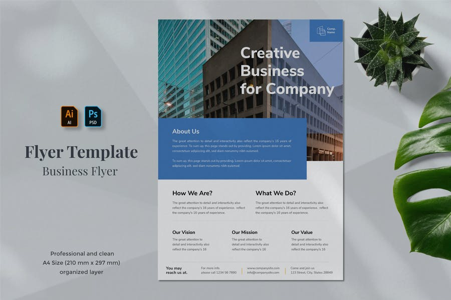 Business Flyer Template 1.2 - product preview 0