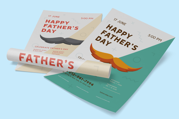 Thumbnail for Father's day Poster Template