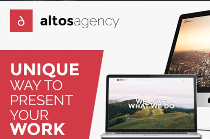 Thumbnail for Altos One Page - Creative Agency HTML Template