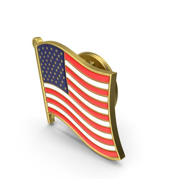 Значок флага США