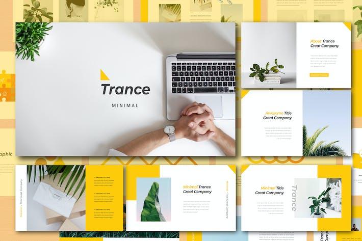 Thumbnail for Trance Google Slide