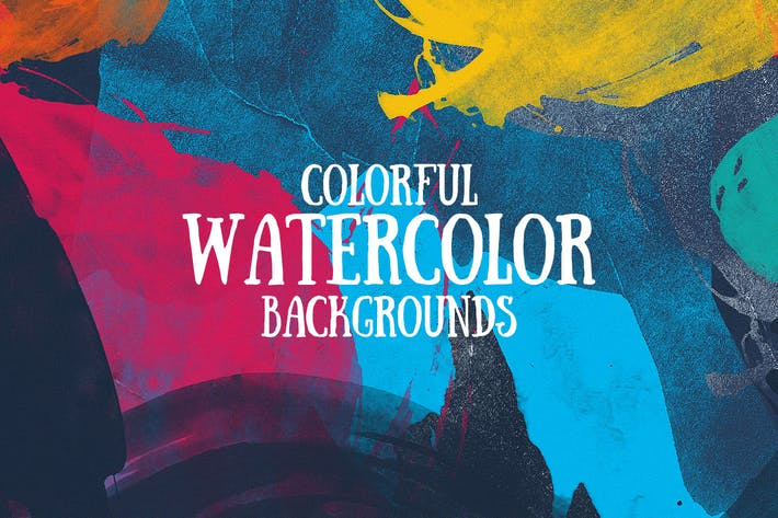 Thumbnail for Colorful Watercolor Backgrounds
