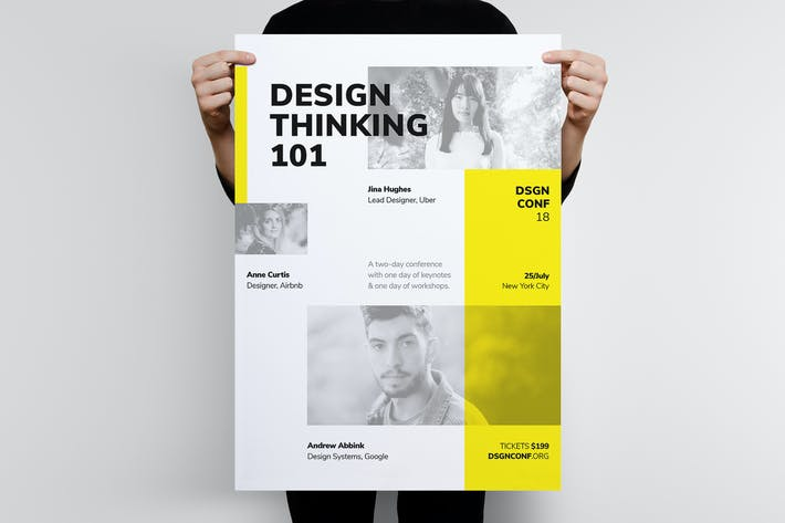 Thumbnail for DSGN Series 5 Poster / Flyer Template
