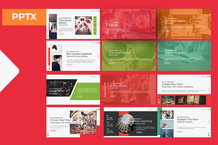 Thumbnail for Frasa Powerpoint Template