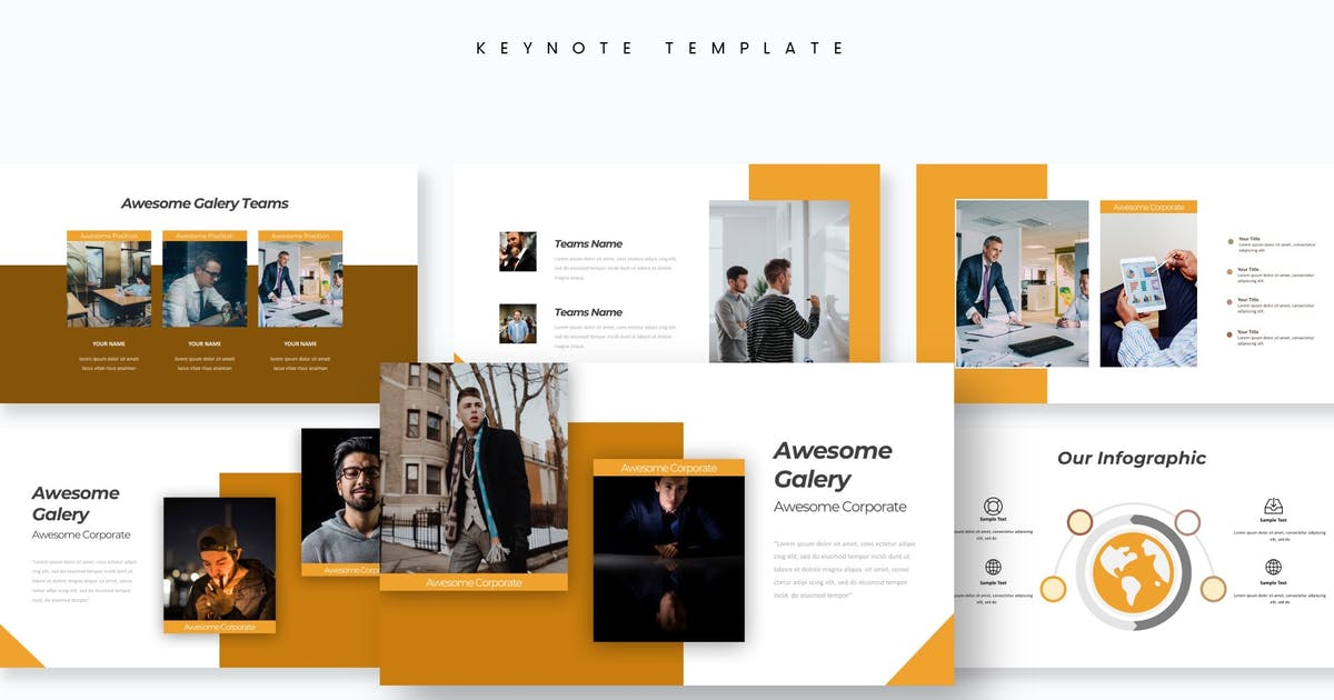 Download Fuel - Keynote Template by aqrstudio