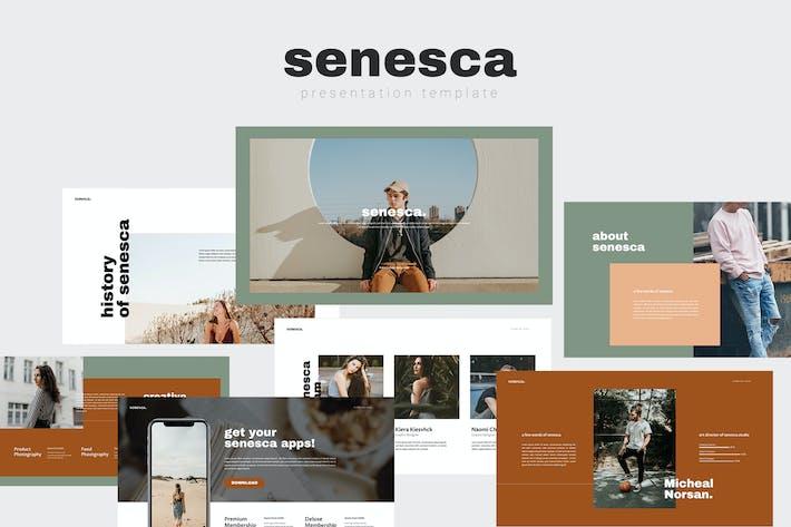 Thumbnail for Senesca Google Слайды Шаблон