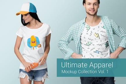 Ultimate Apparel Mockup Vol. 1