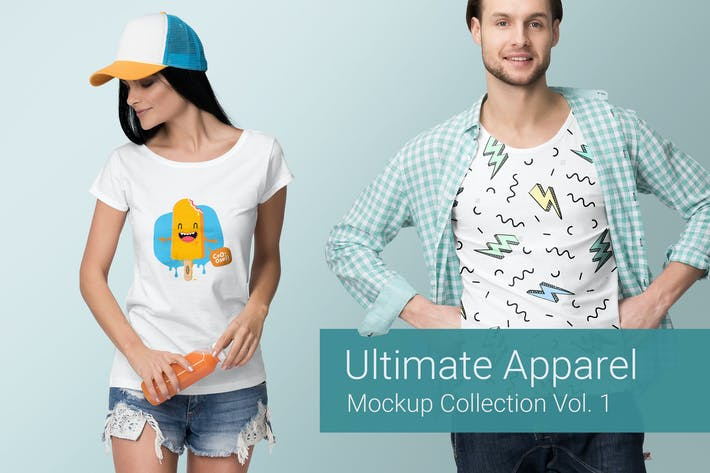 Thumbnail for Ultimate Apparel Mockup Vol. 1