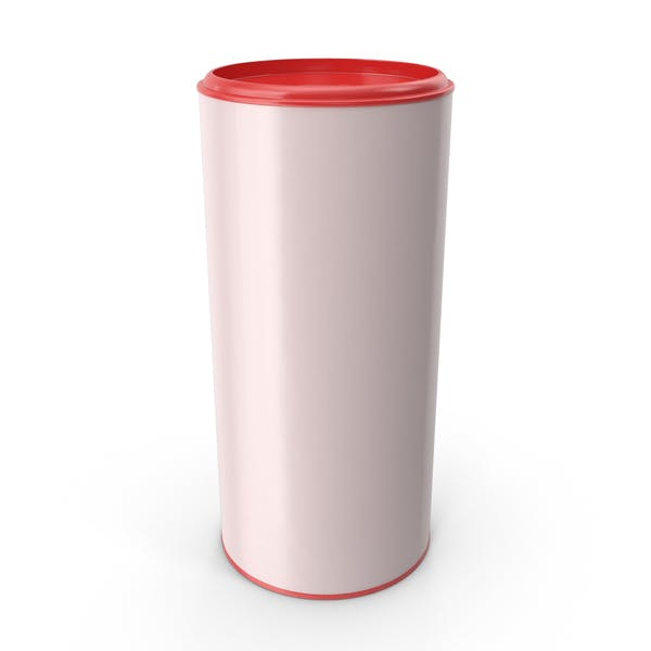 Cylindrical Food Container