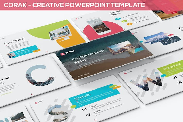 Corak creative powerpoint template by slidefactory on envato elements cover image for corak creative powerpoint template toneelgroepblik Images