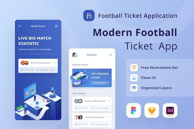 Football Ticket App