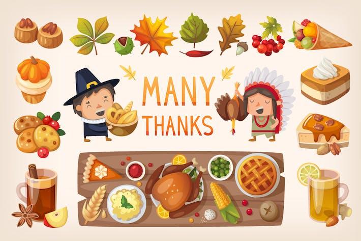 Thumbnail for Thanksgiving Dinner Table