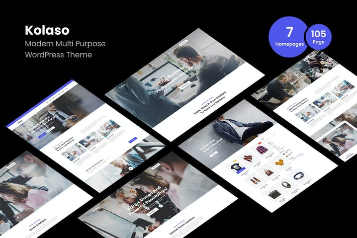 Thumbnail for Kolaso - Modern Multi-Purpose WordPress Theme