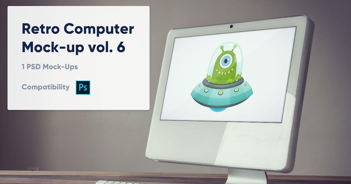 1 Retro Computer Mockup Vol 6 By Maroskadlec On Envato Elements