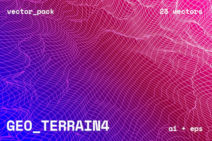 Thumbnail for GEO_TERRAIN4 Vector Pack