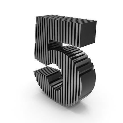 Cut Zahlen Fünf