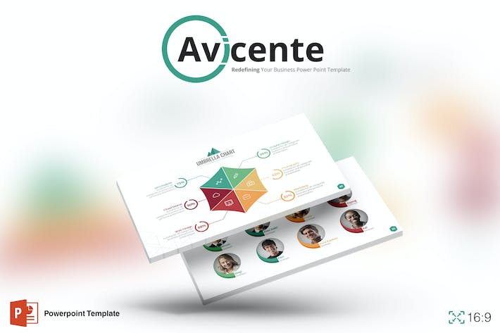 Thumbnail for Avicente - Powerpoint Template