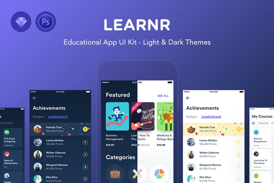 Learnr - Online Courses