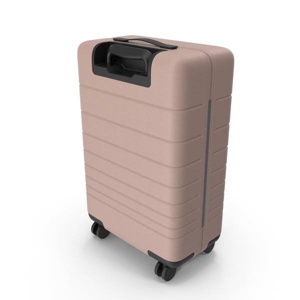 Koffer Hellrosa