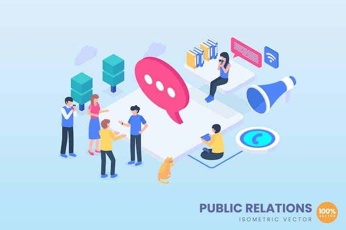Thumbnail for Public Relations Concept Illustration