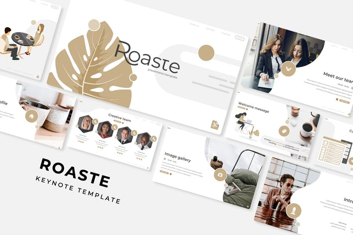 Cover Image For Roaste - Keynote Template