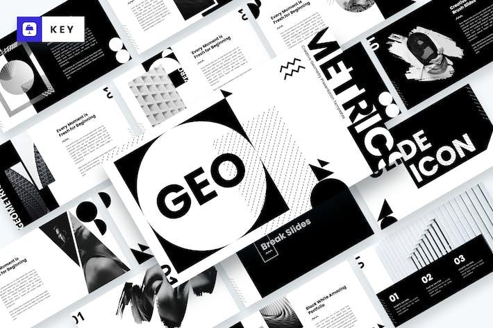 Thumbnail for GEO - Creative Geometry Keynote Template