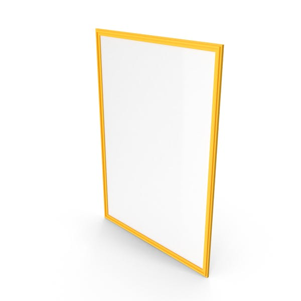Picture Frame Yellow