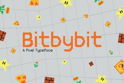 Tipo de letra Bitbybit