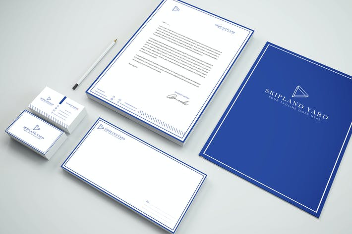 Thumbnail for Business Identity & Stationery Pack