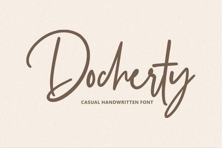 Thumbnail for Docherty - Casual escrito a mano