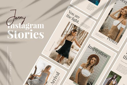 Jenny Instagram Stories Template